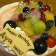 すい寄せられるケーキ屋さん→新宿高野