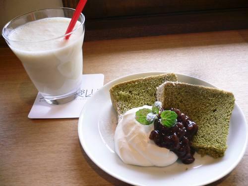 伊香保カフェで♡