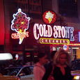We love Coldstone! ①@Times Square