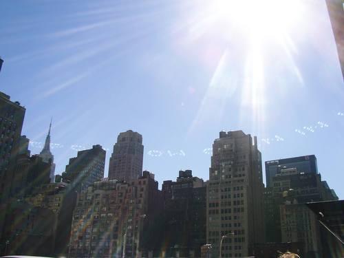 空文字@Times Square