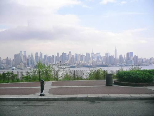 NJからみたマンハッタン