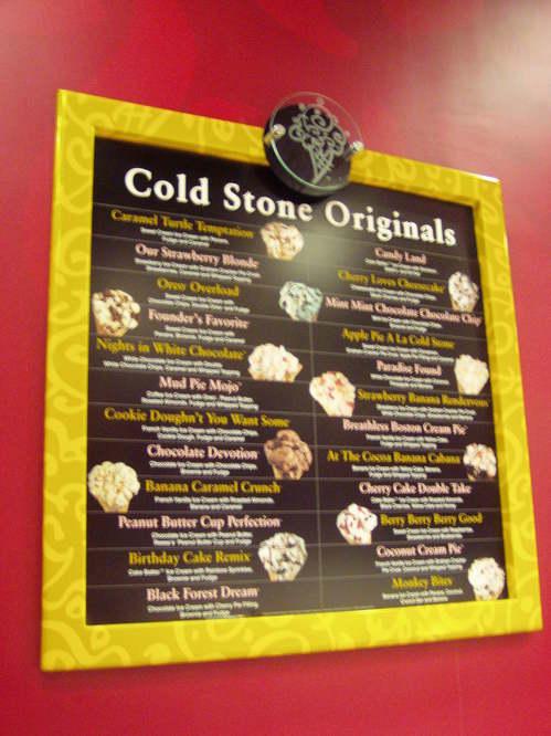 We love Coldstone! ②@Times Square