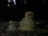 雪だるまがいっぱい!